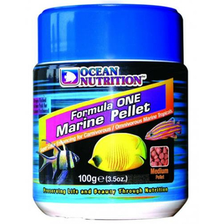Ocean Nutrition Formula One Medium, Marine Pellet 100g